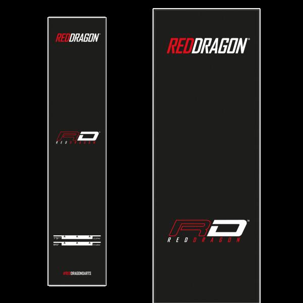 Red Dragon Mat zwart Oche