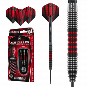 Winmau Joe Cullen straight scallop 90% tungsten 23g