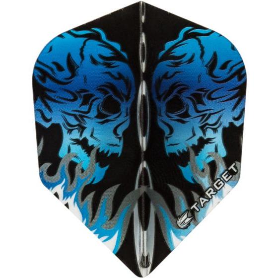 Target Flight Vision Ultra Skull blauw 100micron