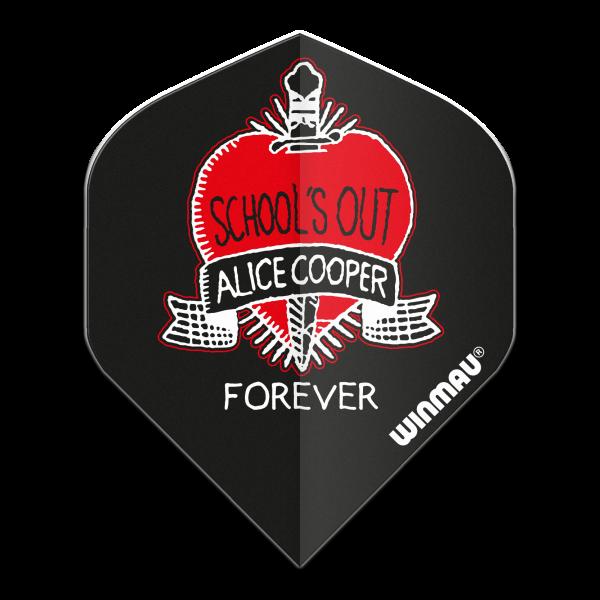Winmau flight Rock Legends Alice Cooper Schools Out 100_micron standaard