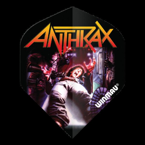 Winmau flight Rock Legends Anthrax 100_micron standaard