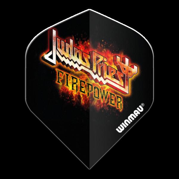 Winmau flight Rock Legends Judas Priest Flaming 100_micron standaard