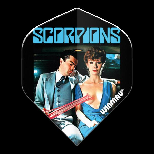 Winmau flight Rock Legends Scorpions Love Drive 100_micron standaard