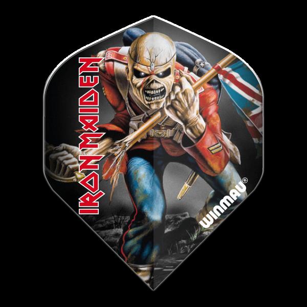 Winmau flight Rock Legends Iron Maiden Trooper 100_micron standaard
