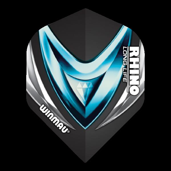 Winmau Flights Rhino standaard/blue diamond 100_micron