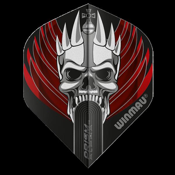 Winmau flights Alpha standaard King skull 100micron