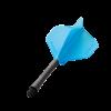 Winmau Stealth flight 150 micron blauw