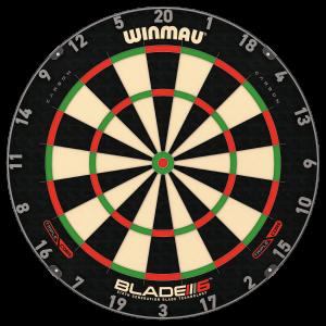 Winmau Blade 6 Triple Core Carbon dartbord