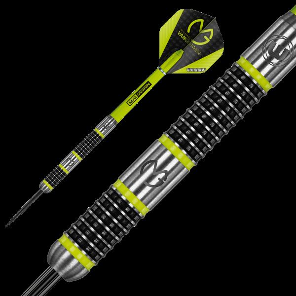 Winmau darts MvG Aspire 80% tungsten barrel