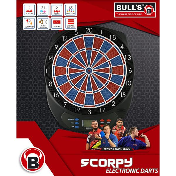 Bull's Scorpy Softtip dartbord