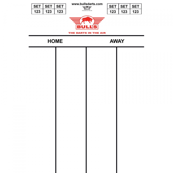 Bull's Dartel Flex 45*30cm 501