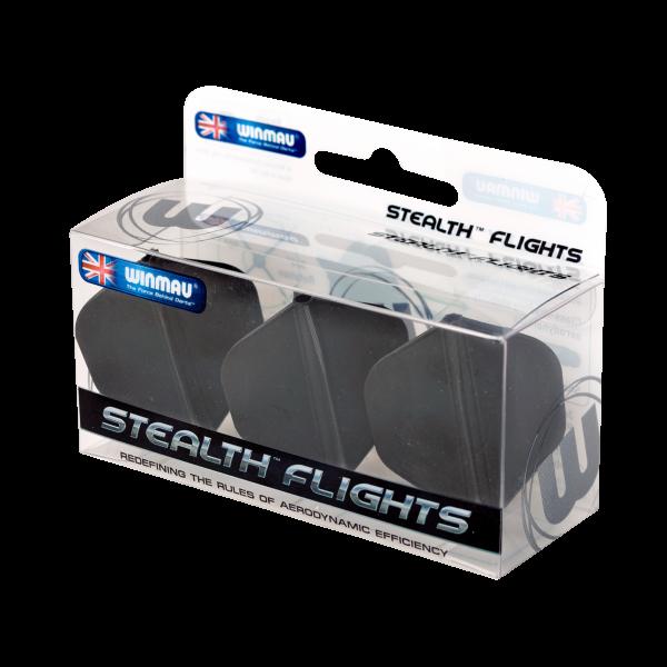 Winmau Stealth flight 150 micron zwart