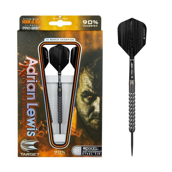 Target darts Adrian Lewis Pixel 90% tungsten