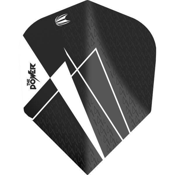 Target flight pro ultra Power 9five G8 standaard N6 zwart-wit