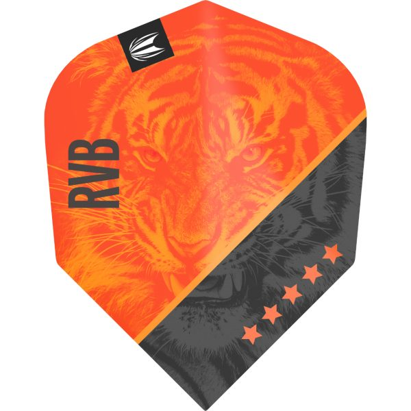 Target flight pro ultra RVB95 G4standaard N6 oranje-zwart