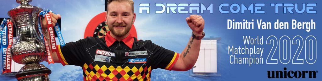 World Matchplay 2020 Dimitri Van den Bergh