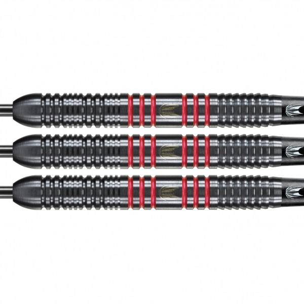 Target darts Vapor8 zwart-rood 23/25g