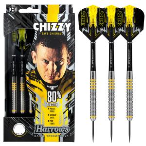 Harrows Chizzy 80% tungsten straight
