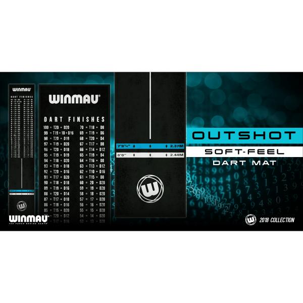 Winmau dart mat outshot