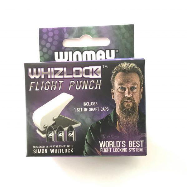 Winmau Whizlock flight lock system